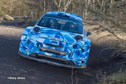 Ogier tests M-Sport's 2017 WRC Fiesta