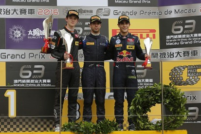 Macau Grand Prix: Antonio Felix da Costa wins F3 qualification race