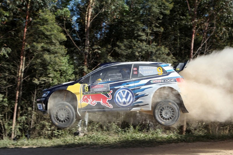 WRC Rally Australia: Andreas Mikkelsen takes early lead for VW