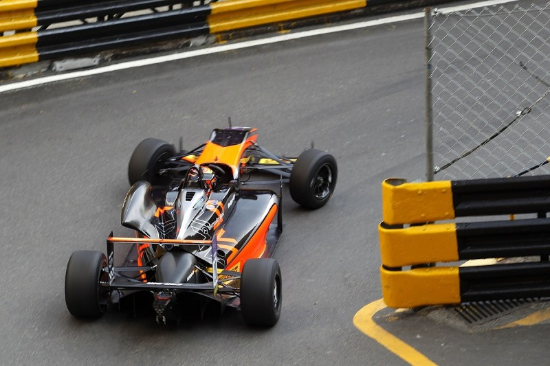 Macau Formula 3 Grand Prix: Callum Ilott fastest in second practice