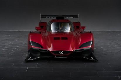 Mazda unveils its new Daytona Prototype international for IMSA 2017