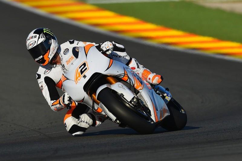 MotoGP rookie Alex Rins injures back in Valencia test crash