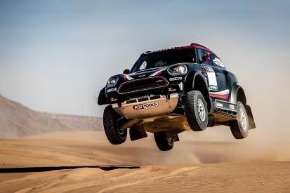 Mini unveils new John Cooper Works Rally for Dakar 2017