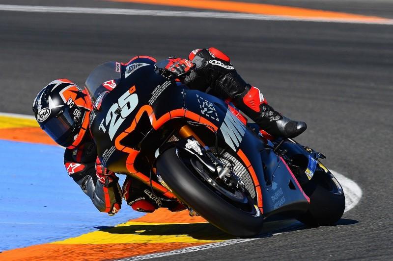 MotoGP testing: Maverick Vinales fastest on debut for Yamaha
