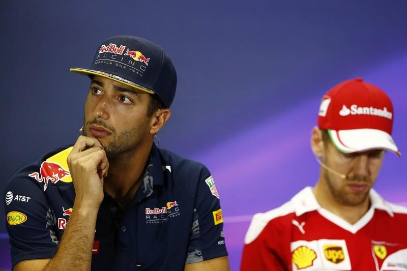 Daniel Ricciardo says Ferrari should drop Mexico penalty appeal