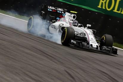 Williams F1 team suspects temperature drop caused its Brazil slump