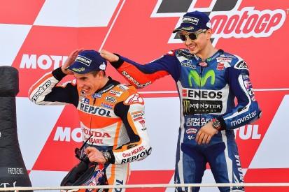 Marc Marquez's poor Valencia MotoGP start 'lucky' for Jorge Lorenzo