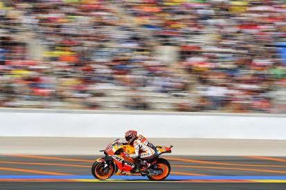Marc Marquez tops MotoGP's third practice session at Valencia