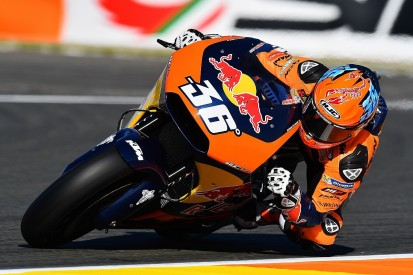 KTM surprised by pace deficit on MotoGP debut at Valencia