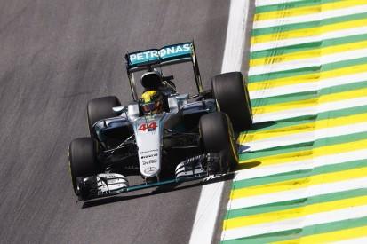 Brazilian GP FP1: Lewis Hamilton fastest ahead of Max Verstappen