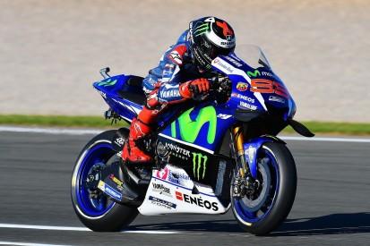 Valencia MotoGP: Jorge Lorenzo quickest again in practice two