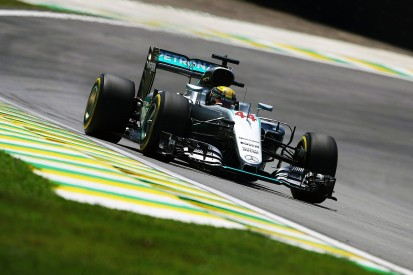 Brazilian GP practice: Lewis Hamilton leads Nico Rosberg in F1 FP2
