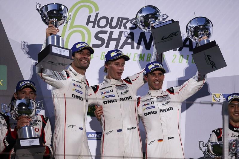 Dominant victory for Mark Webber's #1 Porsche in Shanghai WEC