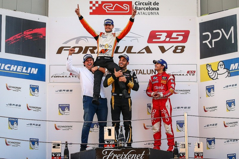 Tom Dillmann wins 2016 Formula V8 3.5 title with win in finale