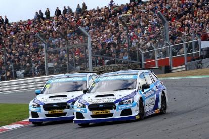 British Touring Car Championship rule tweak could hurt BMR Subarus