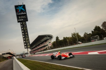 FV8 3.5 Barcelona: Tom Dillmann takes race one pole position