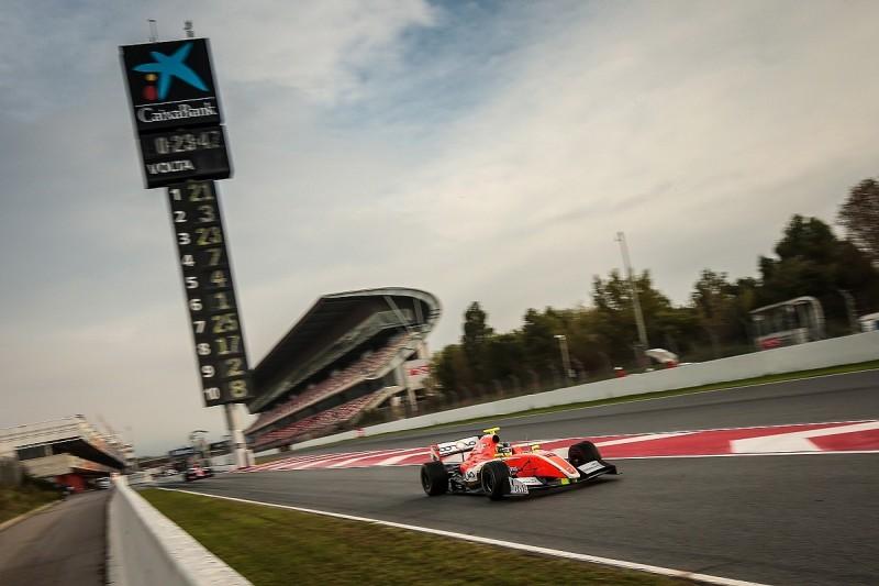 FV8 3.5 Barcelona: Tom Dillmann takes race one pole position