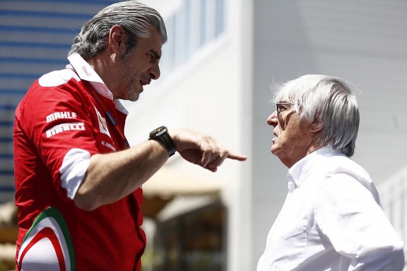 Bernie Ecclestone 'doesn't envy' Arrivabene amid Ferrari F1 woes