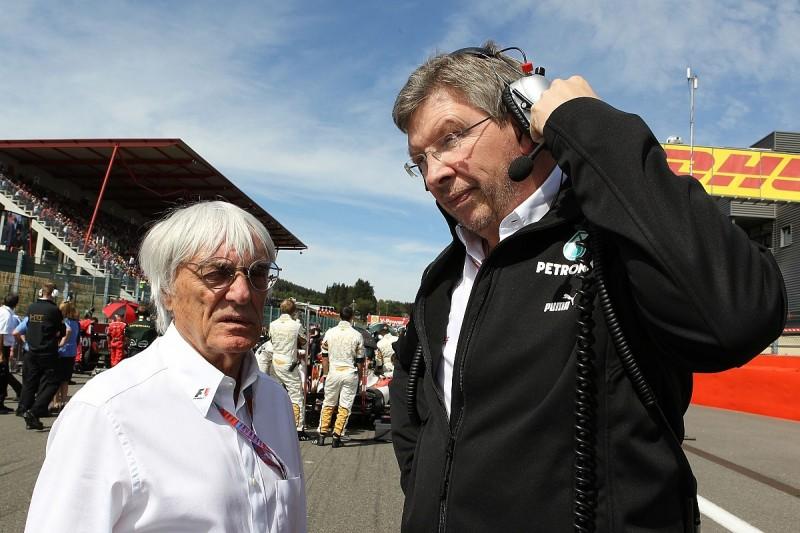 Ross Brawn should take an FIA role not Liberty F1 job - Ecclestone