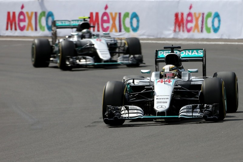 F1 title rivals Rosberg and Hamilton mirror tyre choices for Brazil