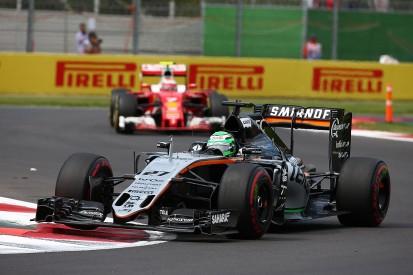 Raikkonen gave me no room in Mexican GP clash, Hulkenberg believes