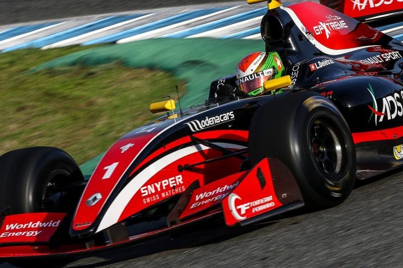 Jerez FV8 3.5: Deletraz edges Aitken for second pole of season