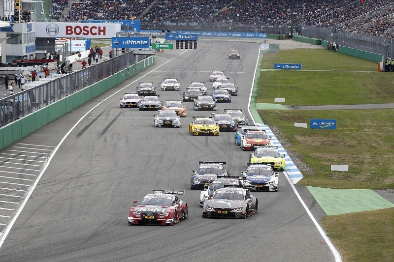 DTM dropping from 24 cars to 18 in 2017