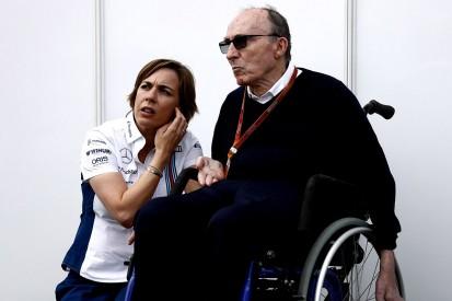 F1 team boss Frank Williams recovering from pneumonia in hospital