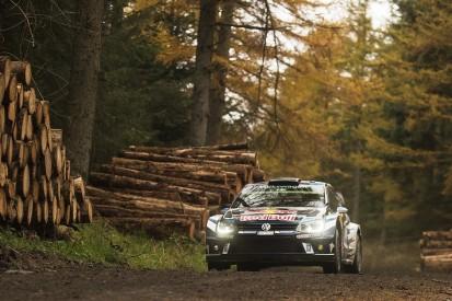 WRC Rally GB: Ogier leads Tanak despite transmission concerns