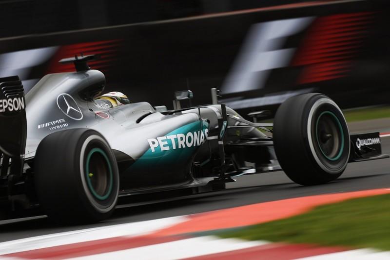 Mexican GP practice: Lewis Hamilton fastest ahead of Ferraris