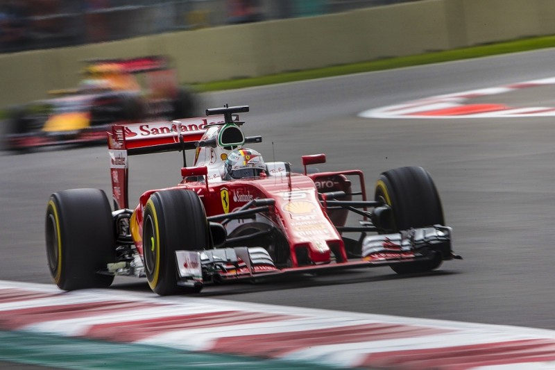 Mexican GP practice: Vettel faster than Hamilton by 0.004s in FP2