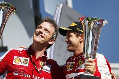 Ferrari's Vettel confident Allison exit won't hurt 2017 F1 car