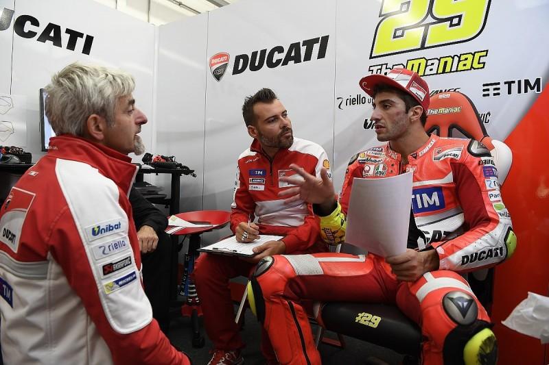 Ducati's Andrea Iannone not fully fit ahead of Sepang MotoGP return