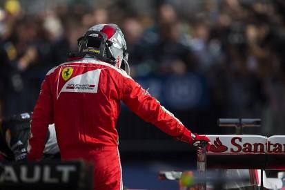 Handling on Vettel's Ferrari F1 car became 'violent' in US GP