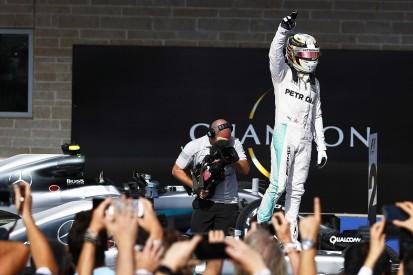 Lewis Hamilton takes 50th F1 win in US Grand Prix