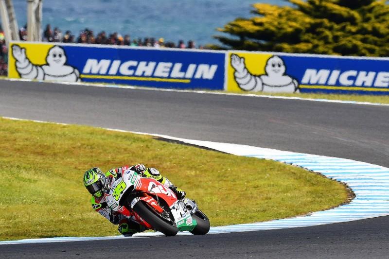 Crutchlow had 2014 crash flashbacks while leading Australian MotoGP