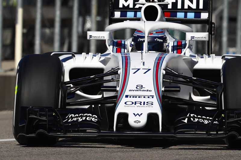 Williams tried experimental 2017 front wing during US GP practice