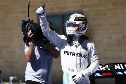 Lewis Hamilton beats Nico Rosberg to US GP F1 pole position