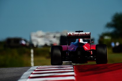 Ferrari on back foot after US GP Friday practice - Sebastian Vettel
