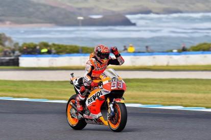 Australian MotoGP: Marquez on pole from Crutchlow, Yamahas struggle