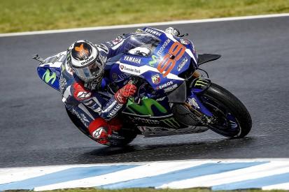 Australian MotoGP: Yamaha's Lorenzo says Saturday 'a big disaster'