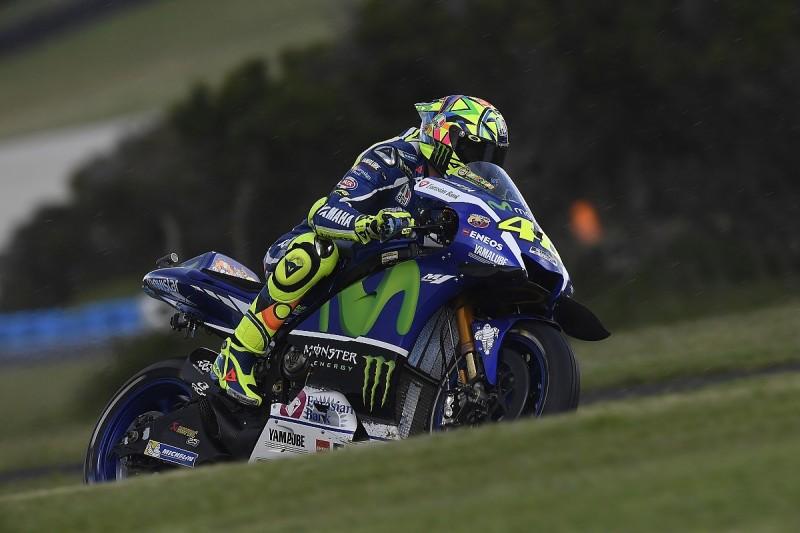 Rossi laments lack of front-end grip at MotoGP Australian GP