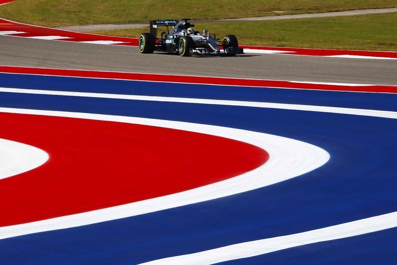 US GP: Lewis Hamilton leads Nico Rosberg in first practice