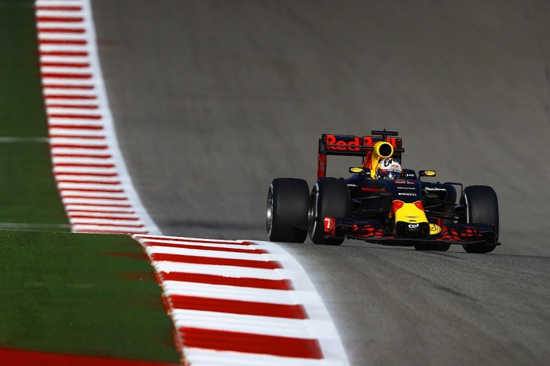Daniel Ricciardo thinks Red Bull is a match for Mercedes at Austin