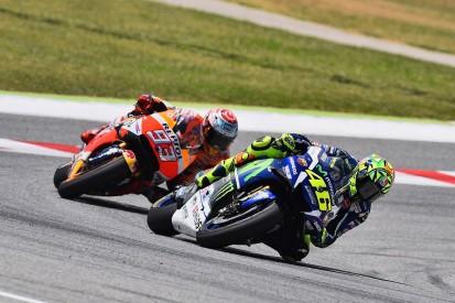 New MotoGP champion Marquez feels Rossi fight at Barcelona a key