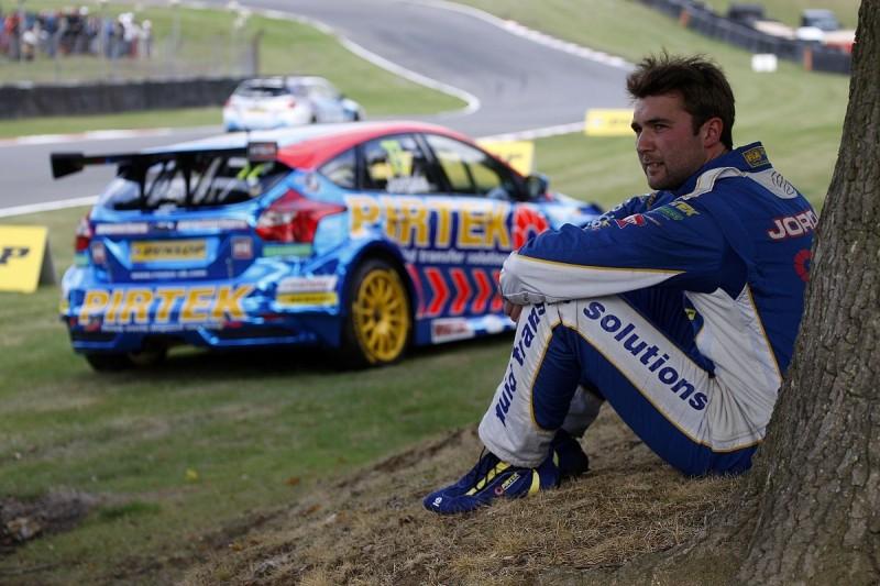 Andrew Jordan splits with Motorbase Performance Ford BTCC team