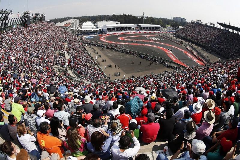 Mercedes' Formula 1 rivals aggressive with Mexican Grand Prix tyres