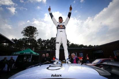 Mattias Ekstrom crowned World RX champion at Estering