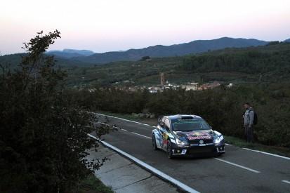 Sebastien Ogier on brink of Rally Catalunya win and 2016 WRC title
