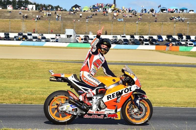 MotoGP champion Marquez's head 'became crazy' after title news